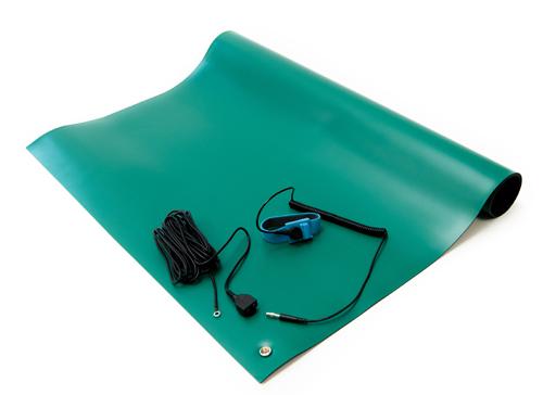 esd soldering mat kit green